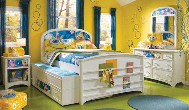 Kamar Kuning Untuk Kamar Anak
